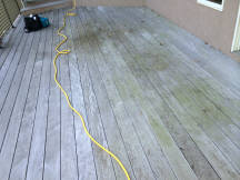 Deck Shield - Before