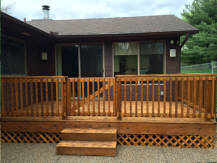 Deck Stain/Paint Before
